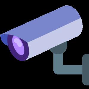 בית עם מצלמות אבטחה