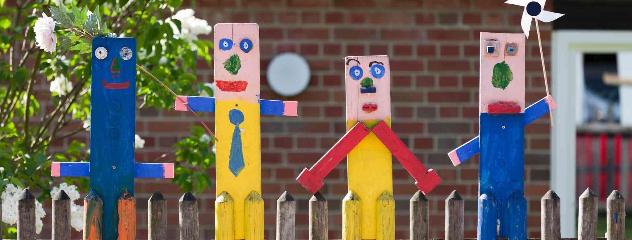 להסתיר מצלמת אבטחה בגן ילדים